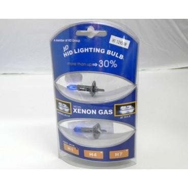 Bec halogen H1 set
