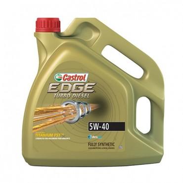 Ulei Castrol Edge 5W-40 TD Titanium FST 4L