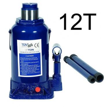 Cric hidraulic 12T albastru
